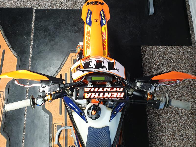 KTM EXC Lenkersetup