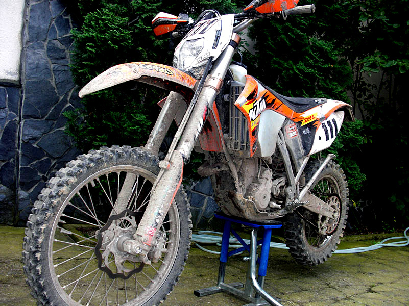 KTM EXC 350 2012 in ROM