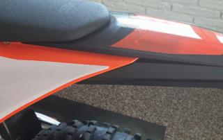 KTM EXC 2020 Seiten-Heckteilübergang