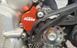 KTM EXC Kupplungsnehmerschutz