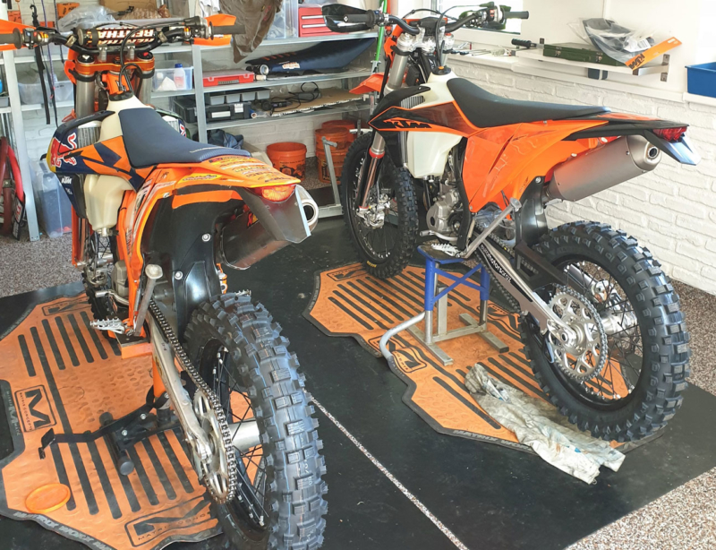 KTM EXC 2020 vs 2019 Setup