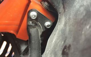 Lockere Vorbauschrauben KTM Adventure 790R