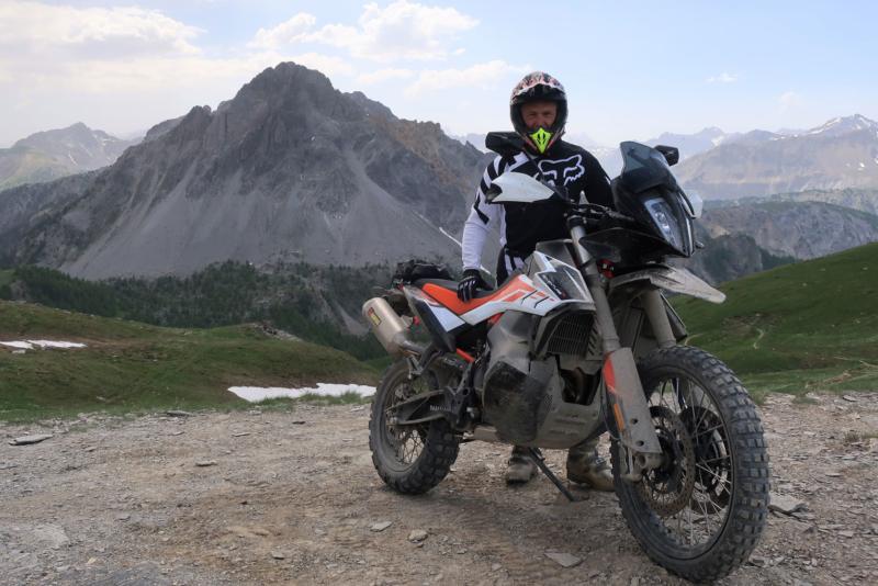 KTM Adventure 790R Passo Mulattiera
