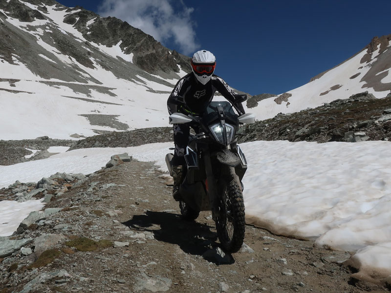 KTM Adventure 790R Colle Sommeiller