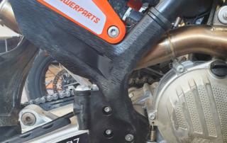 KTM EXC 2020 Rahmenschützer mit viel Grip