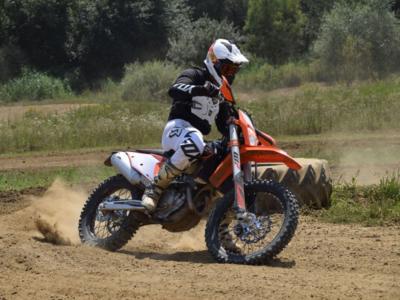 Blogtitel2 KTM EXC 350F 2020 Second Ride am MX Track
