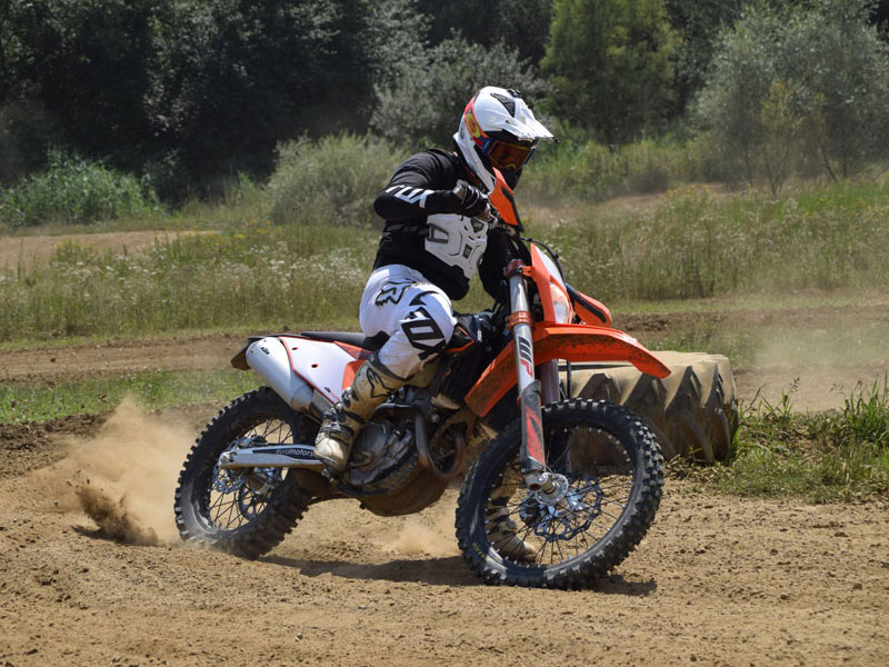 Blogtitel2 KTM EXC 350F 2020 Second Ride am MX Track