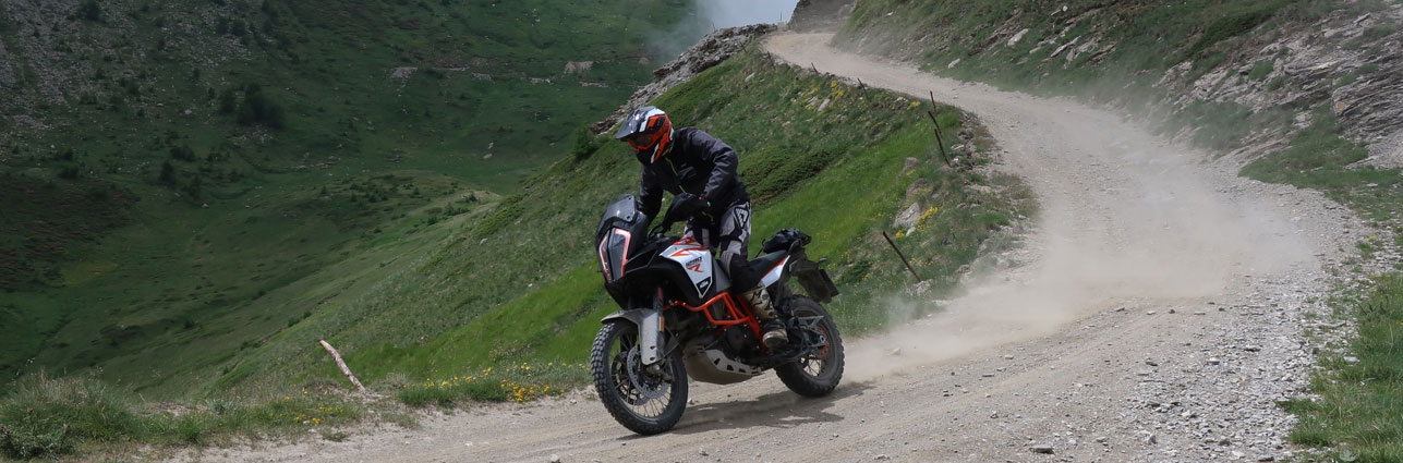 KTM Adventure 1290R jentlflow Fahrtraining Assietta