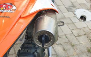 Acrapovic Auspuff Wasch-Stopfen KTM EXC-F
