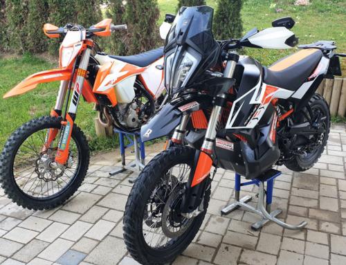 Offroad Motorrad Service: waschen-pflegen-checken