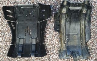 X-Grip Motorschutz versus KTM Powerparts