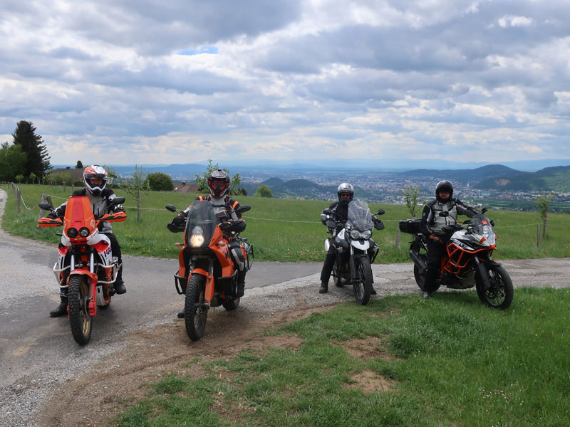 Offroadtraining Adventurebiken im Grazer Hügelland