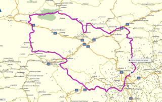Route der JentlFlow vier Schotterpässe Adventurebike Tour Steiermark