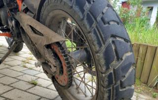 Dunlop Trailmax Mission Hinterreifen im Jentlflow Test