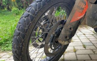 Dunlop Trailmax Mission Vorderreifen im Jentlflow Test
