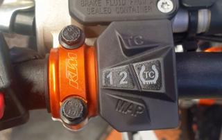 KTM 350 EXC-F Six Days 2021, Mappingschalter, Jentlflow Test