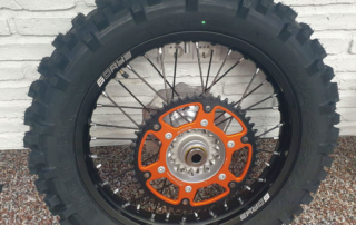 KTM 350 EXC-F Six Days 2021, Supersprox Stealth 2-Komponenten Kettenrad, Jentlflow Test