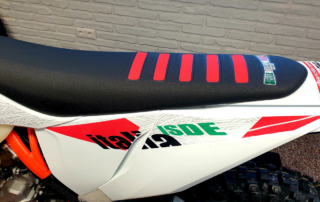 KTM 350 EXC-F Six Days 2021 Selle Dalle Valle Sitzbank, Jentlflow Test