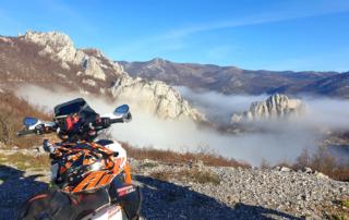 Adventurebiketour Jentlflow am TET Kroatien , Velebit Nord