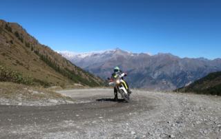 Westalpen Adventurebiketour Jentlflow 2020 Colle delle Finestre Karl Götschl Husquarna 701 Enduro