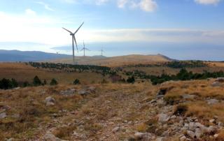 Adventurebiketour Jentlflow am TET Kroatien, Windmühlen vor Senj