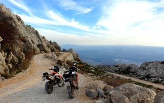 Adventurebiketour Jentlflow am TET Kroatien, Mali Alan Pass