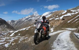 Westalpen Adventurebiketour Jentlflow 2020 Col Sommeiller Alexander Kopp KTM Adventure 1290S