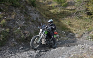 Westalpen Adventurebiketour Jentlflow 2020 Passo della Mulattiera Hannes Meixner BMW G650X