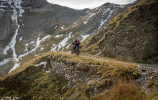 Westalpen Adventurebiketour Jentlflow 2020 Passo della Mulattiera Alexander Kopp KTM Adventure 1290S
