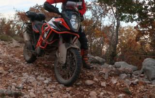 Adventurebiketour Jentlflow am TET Kroatien, KTM Adventure 1090R