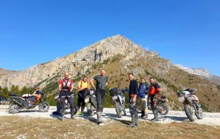 Westalpen Adventurebiketour Jentlflow 2020 Pause beim Forte Pramand