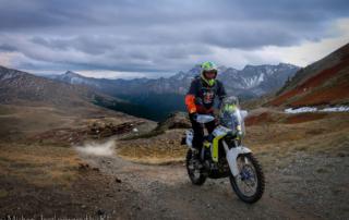 Westalpen Adventurebiketour Jentlflow 2020 Lago Nero Karl Götschl Husquarna 701 Enduro