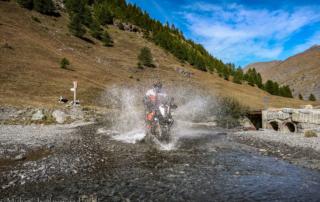Westalpen Adventurebiketour Jentlflow 2020 Lago Nero Alexander Kopp KTM Adventure 1290S