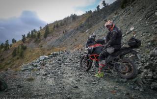 Westalpen Adventurebiketour Jentlflow 2020 Lago Nero Robert Essl KTM Adventure 1290S