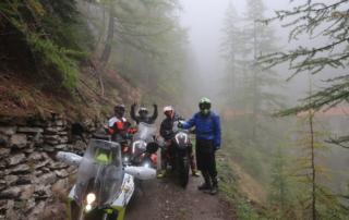 Westalpen Adventurebiketour Jentlflow Regenpause