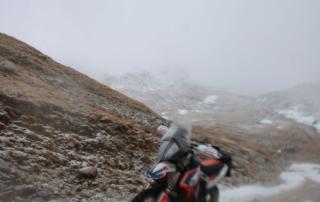 Westalpen Adventurebiketour Jentlflow 2020 Col Sommeiller saukalt KTM Adventure 790R