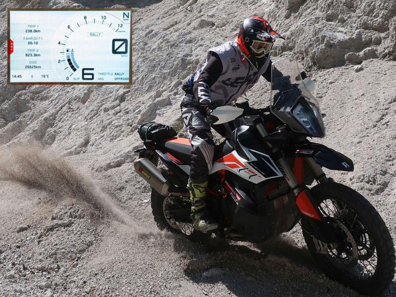 KTM Adventure 790R – Elektronik Assistenzsysteme in der Praxis