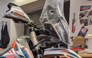 Rade Garage Windshield KTM Adventure 890 Jentlflow