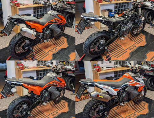 KTM Adventure 890 – Transformation to Rally