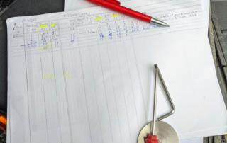 Setup Protokoll WP Suspension Pro Components Fahrwerk KTM EXC